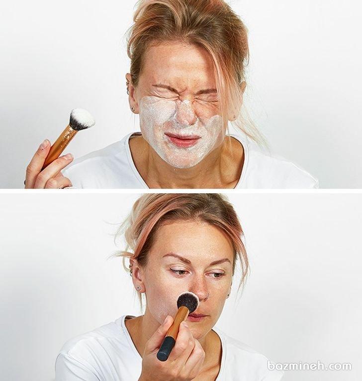 11 ترفند آرایشی عجیب که بهتر است از انجام آن ها پرهیز کنید