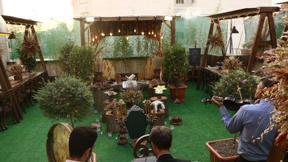 سالن عقد فضای باز پیوند مهرافزا