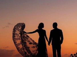 پیام های تبریک به عروس و داماد