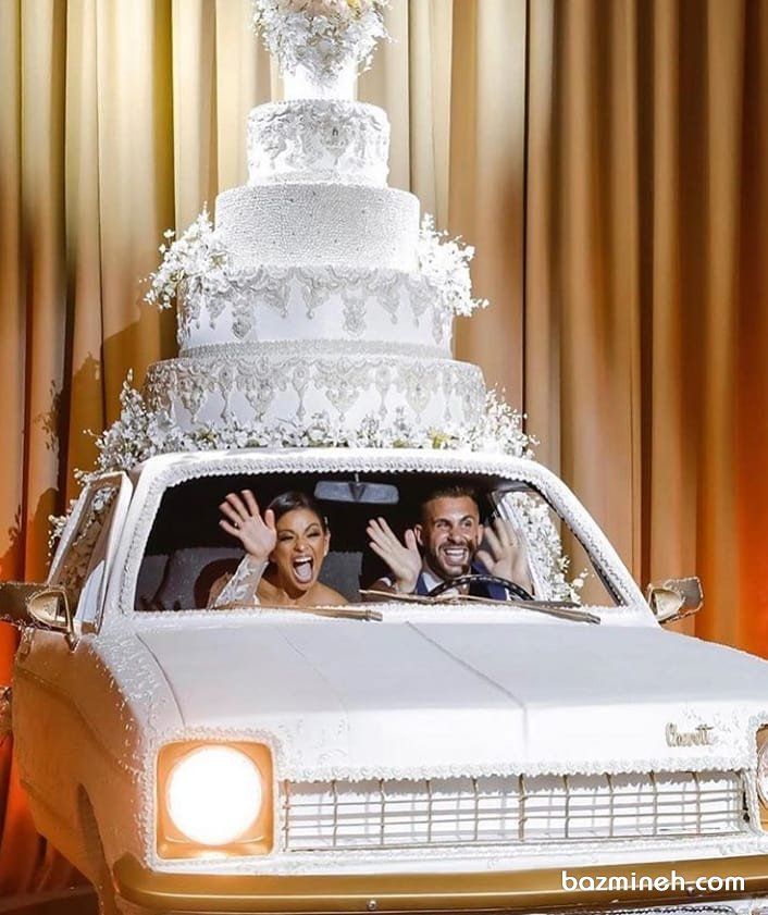 50 کیک جالب برای بله برون، نامزدی و عروسی (آلبوم سفارش کیک)