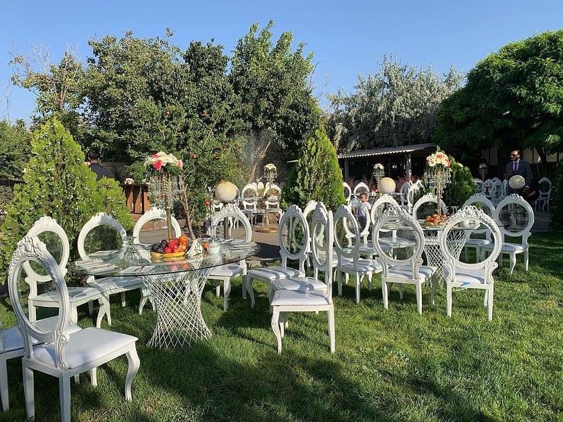 باغ تالار طاووس طلایی تبریز