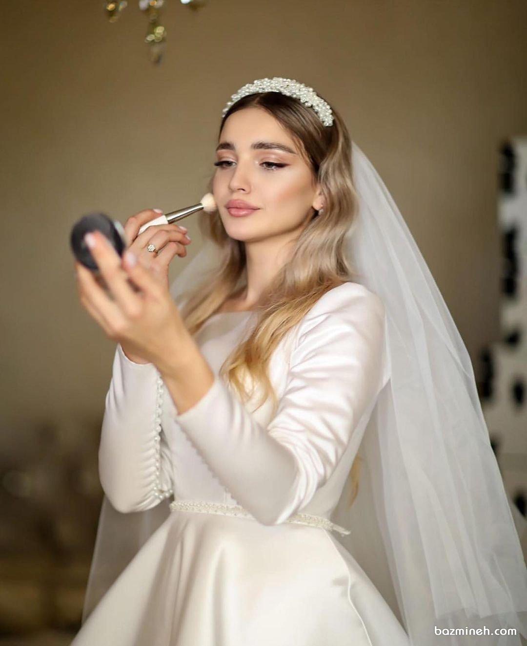 مهم ترین نکاتی که قبل از انتخاب نوع میکاپ و آرایشگاه عروس باید بدانید (به همراه 20 مدل میکاپ عروس)