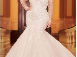 نکات مهم برای انتخاب لباس عروس پلاس سایز به همراه 30 مدل پیشنهادی برای عروس های چاق