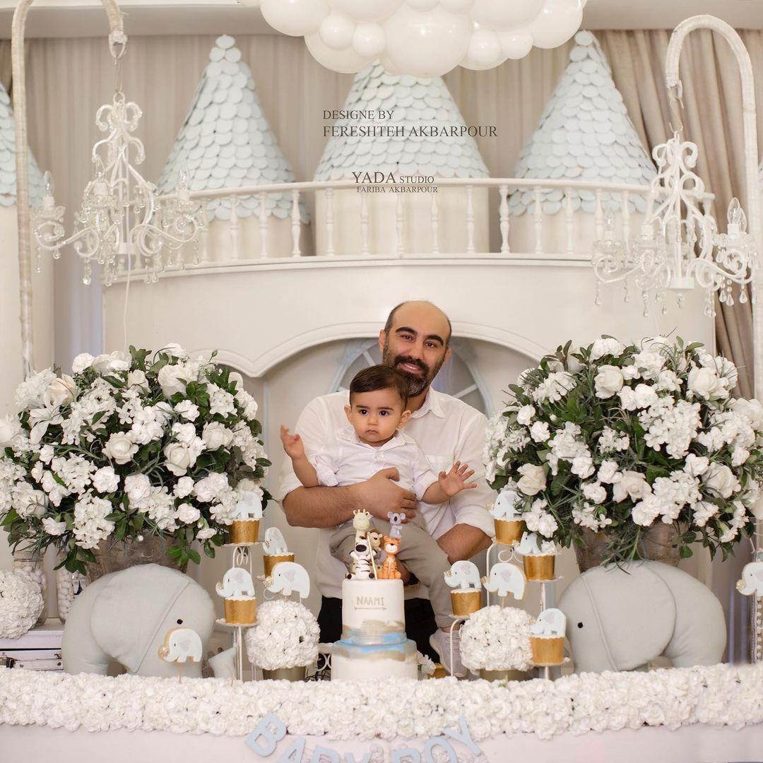 دکوراسیون جشن فرشته اکبرپور