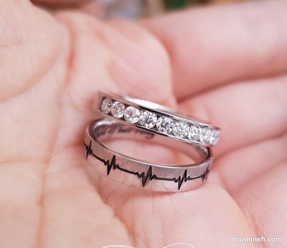 جدیدترین مدل حلقه ست ازدواج