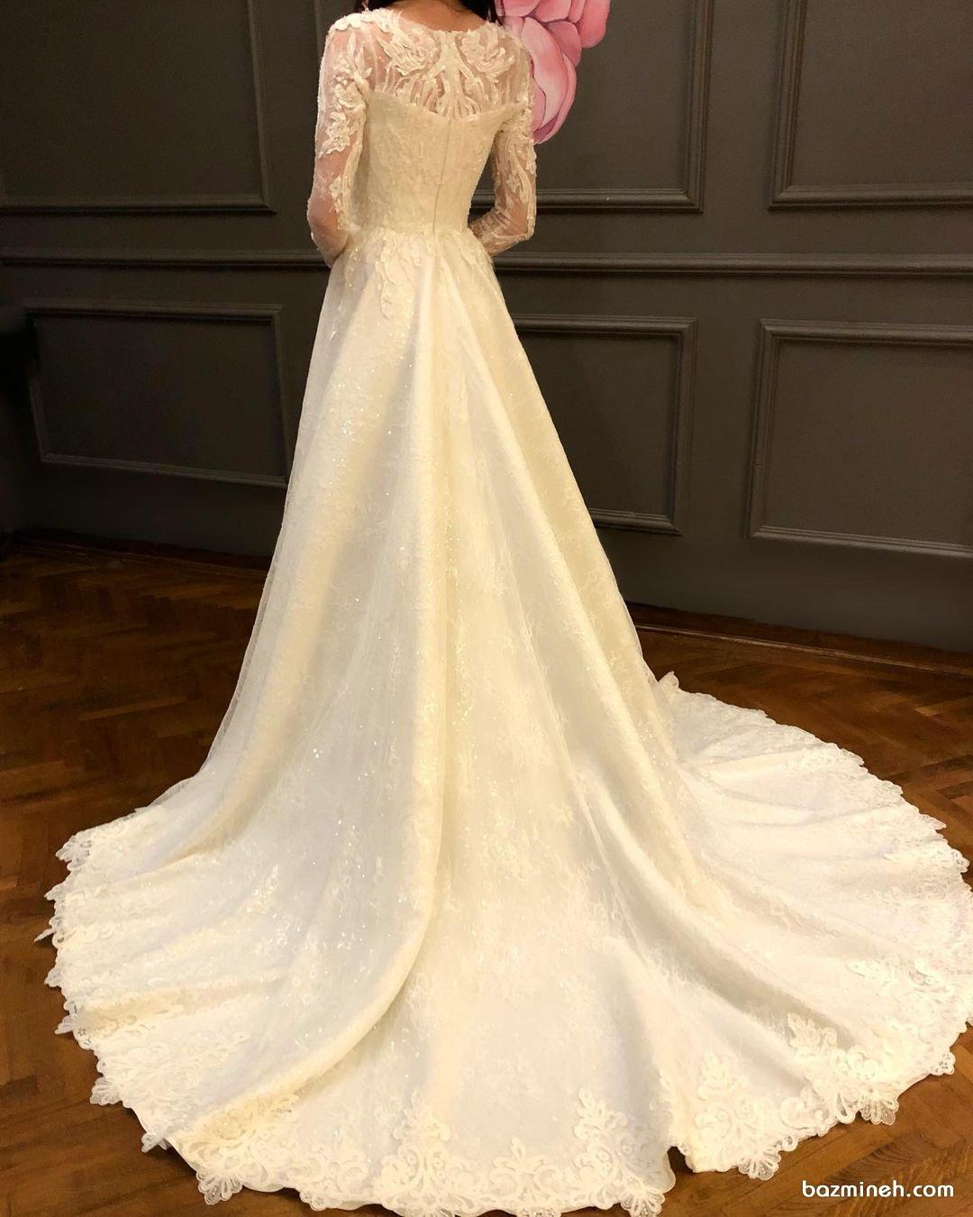 لباس عروس پوشیده و شیک