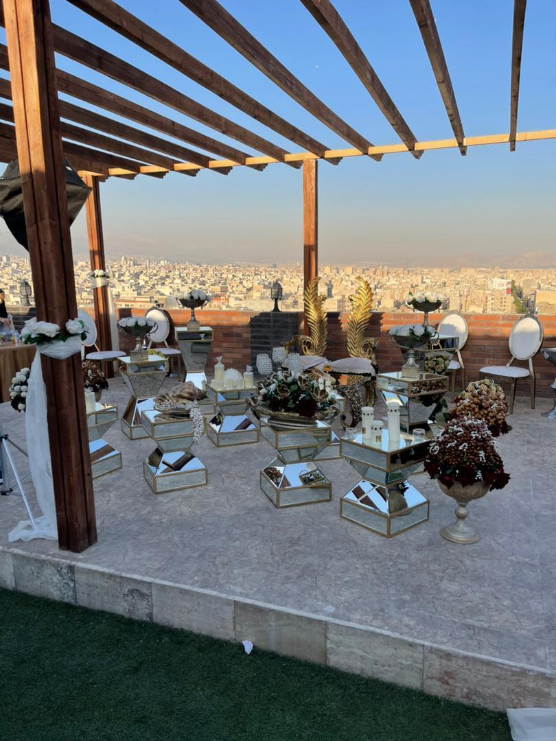 سالن عقد هانیل (جنوب تهران - فضای باز)