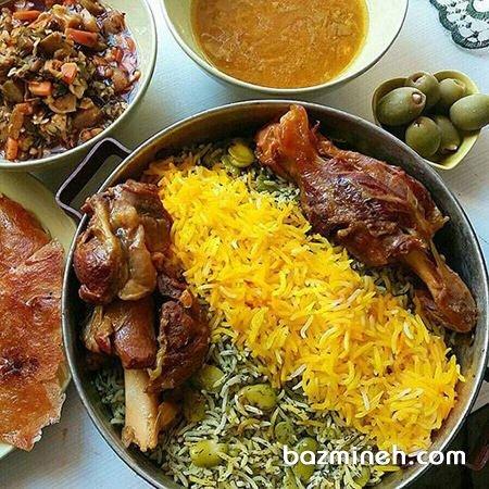 پیشنهاد پنج غذای مجلسی برای ناهار مهمانی، به سبک ایرانی پذیرایی کنید!