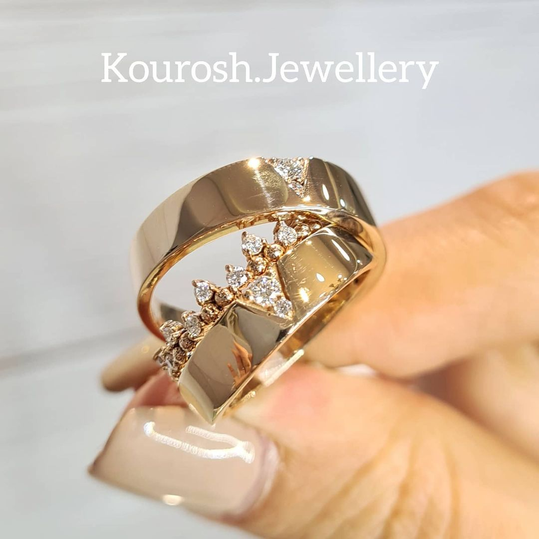 گالری طلا و جواهر حلقه کوروش