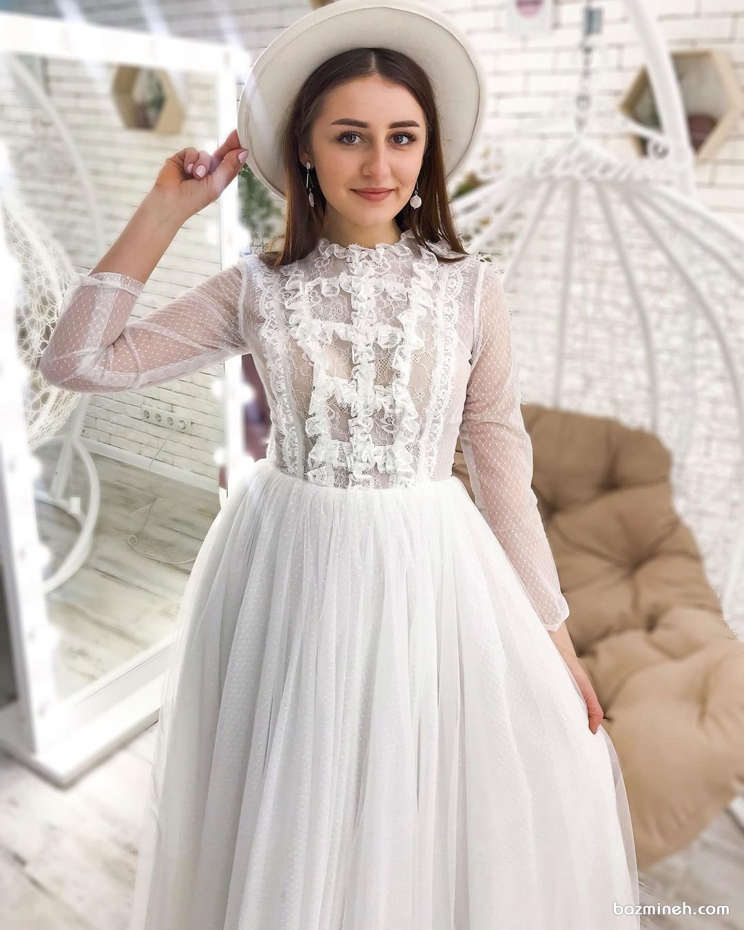 ترندهای لباس عروس 2021 چیست؟ (به همراه 45 عکس لباس عروس)