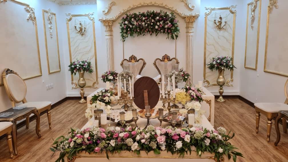 سالن عقد رومانس در اصفهان